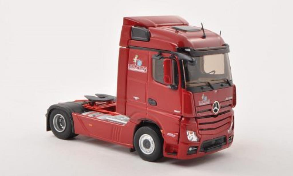 Mercedes Actros 1/43 Eligor Streamspace Lauratrans Solo-Zugmaschine miniature