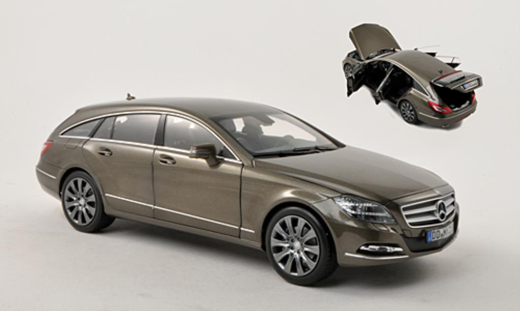 Mercedes Classe CLS 1/18 Norev 500 Shooting Brake (X218) gray HQ 2012 diecast