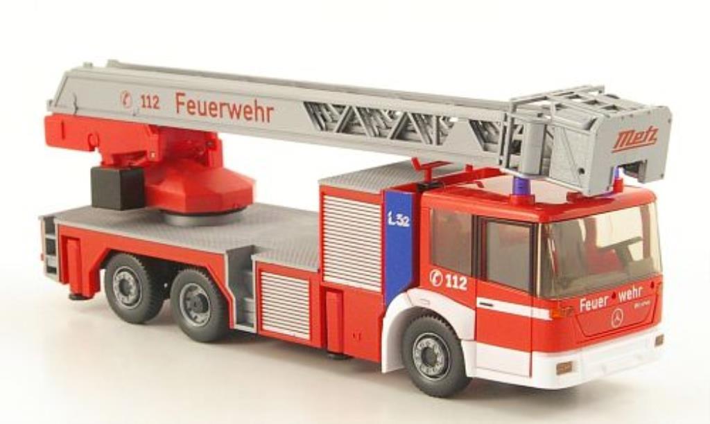 Mercedes Econic 1/87 Wiking DLK 23-12 Metz Feuerwehr miniature