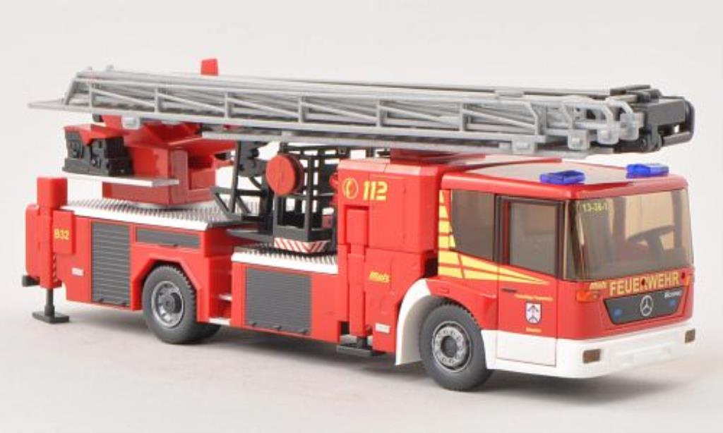 Mercedes Econic 1/87 Wiking Metz B32 Feuerwehr Straelen Hubrettungsbuhne miniature
