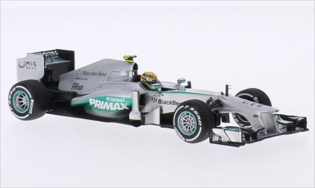 Mercedes F1 1/43 Minichamps W04 No.10 AMG Petronas F1 Team Formel 1 GP Malaysia 2013 miniature