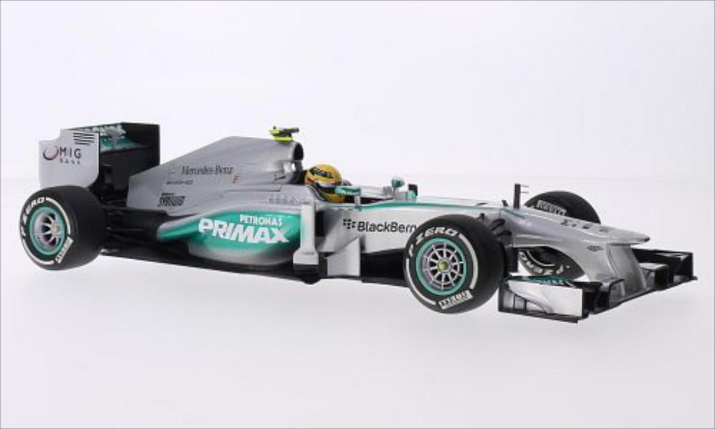 Mercedes F1 1/18 Minichamps W04 No.10 AMG Petronas Team Petronas Formel 1 GP Malaysia 2013