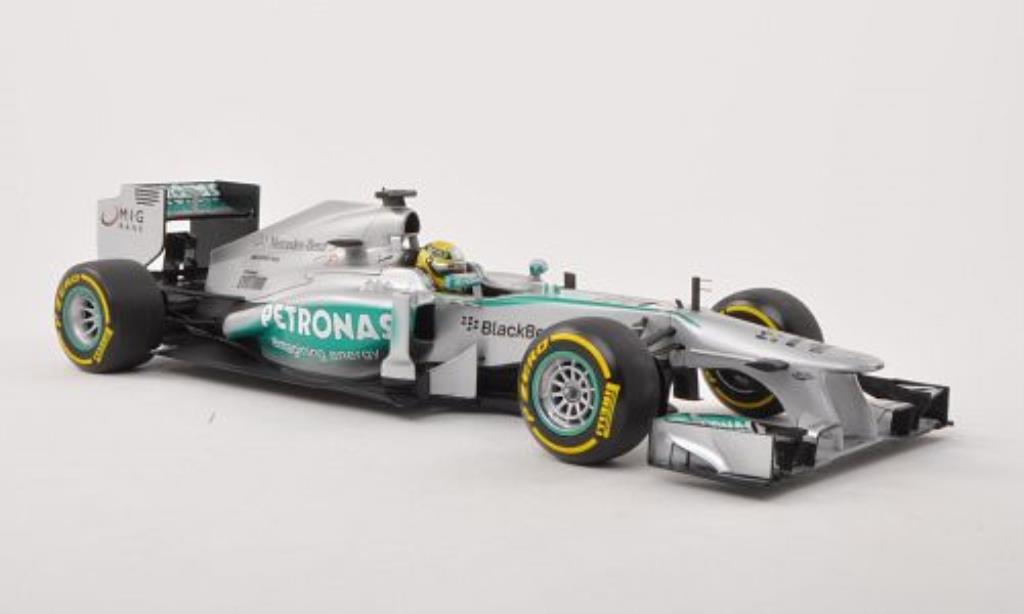 Mercedes F1 1/18 Minichamps W04No.9 Petronas -Saison 2013 miniature
