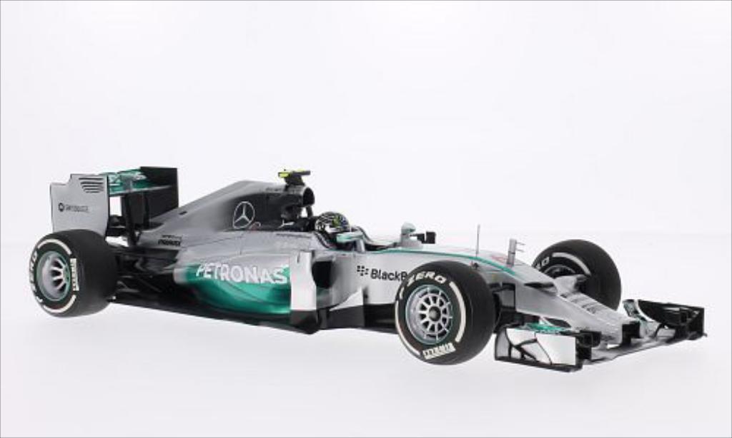 Mercedes F1 1/18 Minichamps W05 Hybrid No.6 AMG Formel 1 Team Petronas Formel 1 2014 miniature