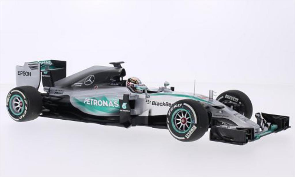 Mercedes F1 1/18 Minichamps W06 Hybrid No.44 Mercedes AMG Petronas F1 Team Petronas Formel 1 GP Australien 2015 miniatura