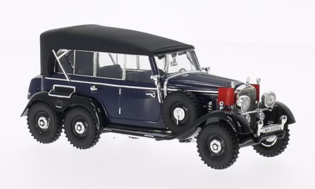 Mercedes G4 1/43 Signature bleu geschlossen 1938 miniature