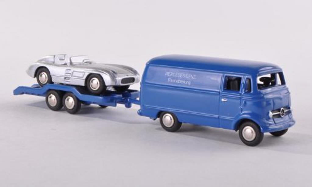 Mercedes L319 1/87 Bub Kasten/Hanger/MB 300SLR diecast