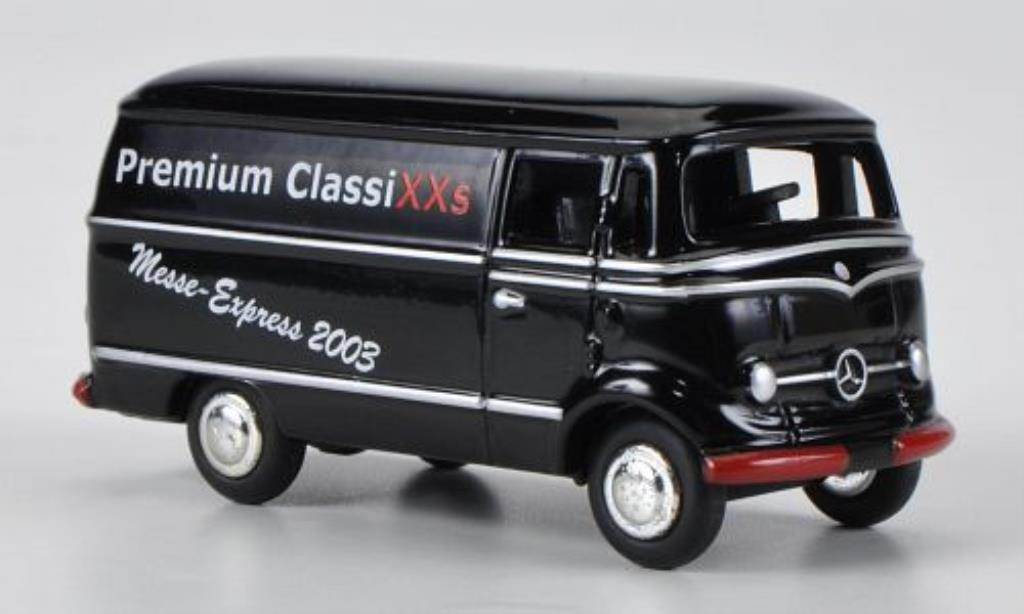 Mercedes L319 1/87 Bub Kasten Messe 2003 miniature