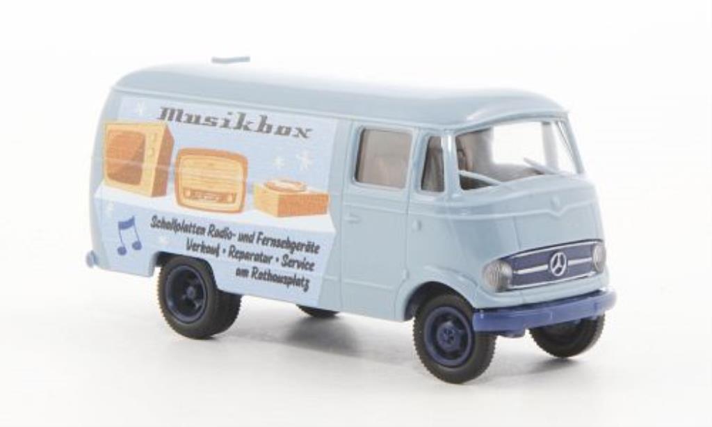 Mercedes L319 1/87 Brekina Kasten Musikbox miniature