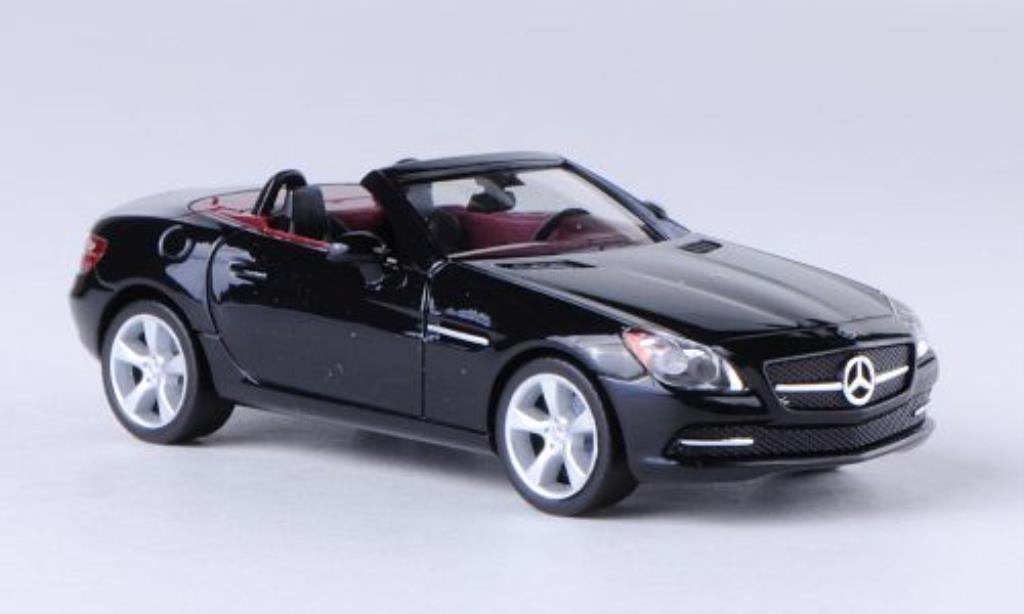 Mercedes Classe SLK 1/87 Herpa (R172) noire 2011 miniature