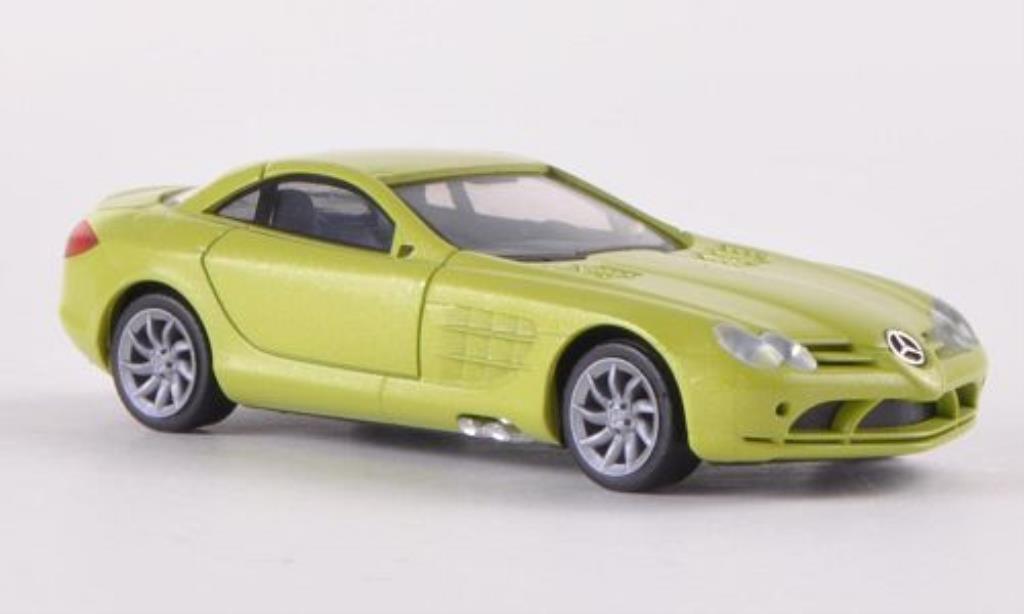 Mercedes SLR 1/87 Herpa McLaren grun 2004 miniature