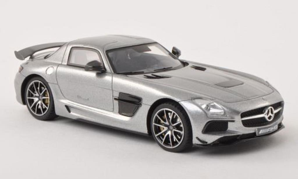 Mercedes SLS 1/43 Minichamps AMG (C197) Black Series grise 2013 miniature