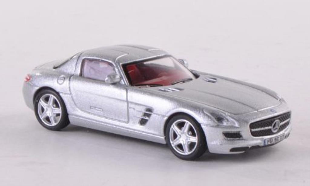 Mercedes SLS 1/87 Schuco AMG Coupe grise miniature