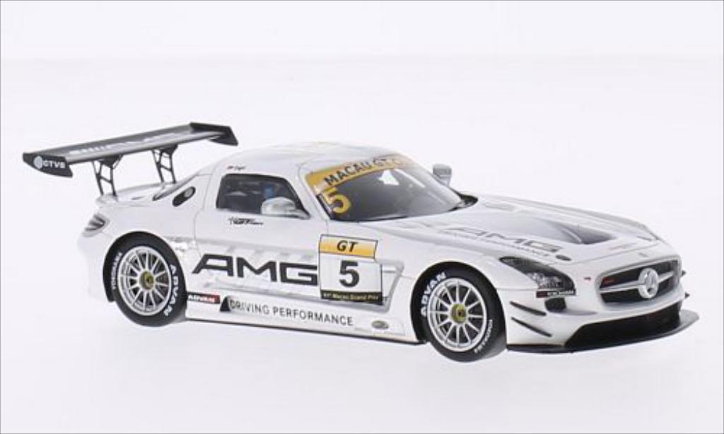 Mercedes SLS 1/43 Spark AMG GT3 No.5 GT Cup GP Macau 2014 diecast