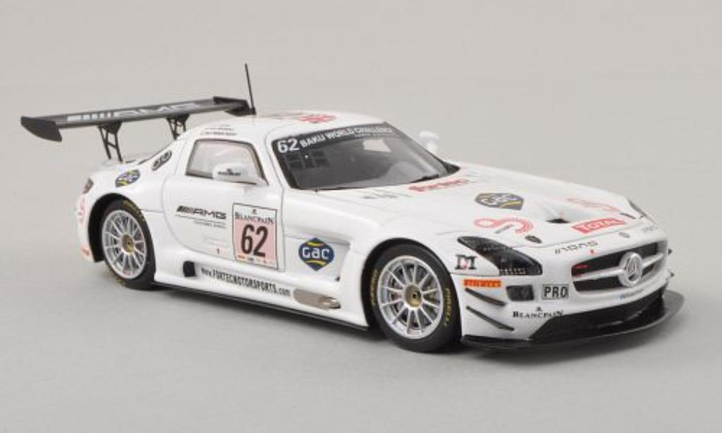 Mercedes SLS 1/43 Spark AMG GT3 No.62 AMG Customer Sports 24h Spa 2013 /A.Brundle miniature