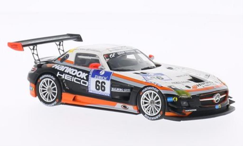 Mercedes SLS 1/43 Minichamps AMG GT3 No.66 Hankook Team Heico 24h Nurburgring 2012 /Arnold miniature