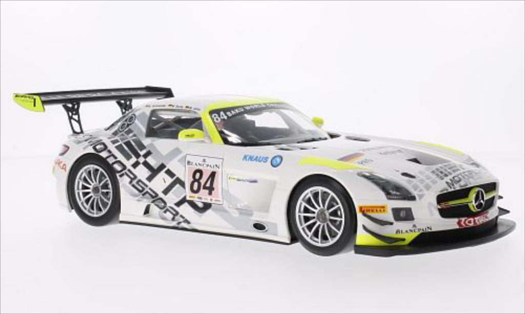 Mercedes SLS 1/18 Minichamps AMG GT3 No.84 HTP Motorsport Persson Team 24h Spa 2013 /B.Schneider miniature