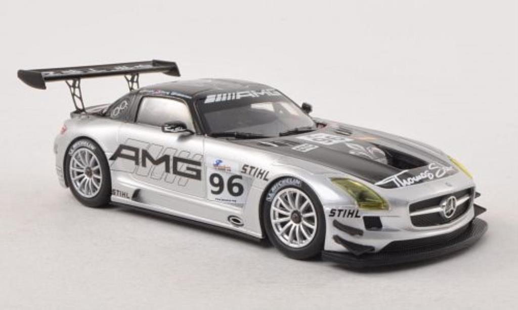 Mercedes SLS 1/43 Minichamps AMG GT3 No.96 Customer Sports Team AMG China 6h Zhuhai 2011 /Arnold miniature