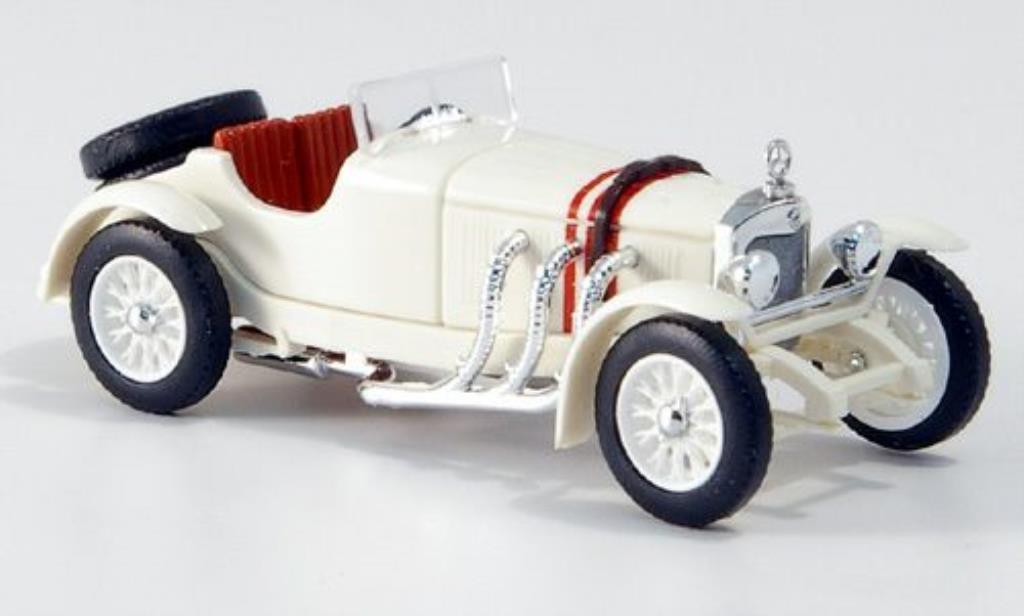 Mercedes SSK 1/87 Busch blanche lenkbare Rader 1928