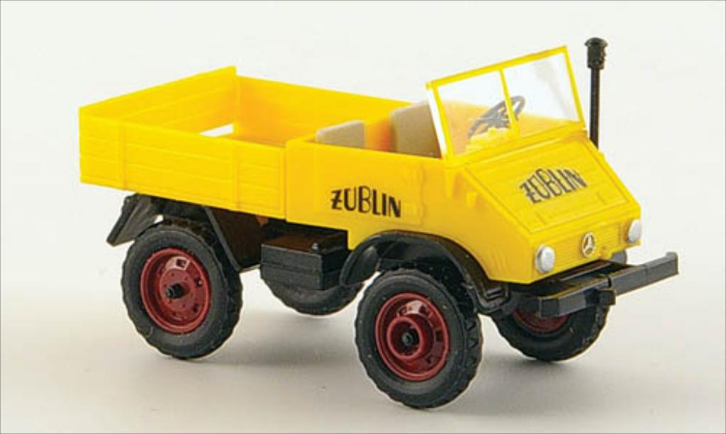 Mercedes Unimog 1/87 Epoche 30 PS Zublin miniature