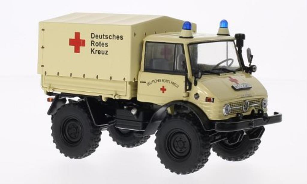 Mercedes Unimog 1/32 Weise 406 (U84) Deutsches rossoes Kreuz miniatura