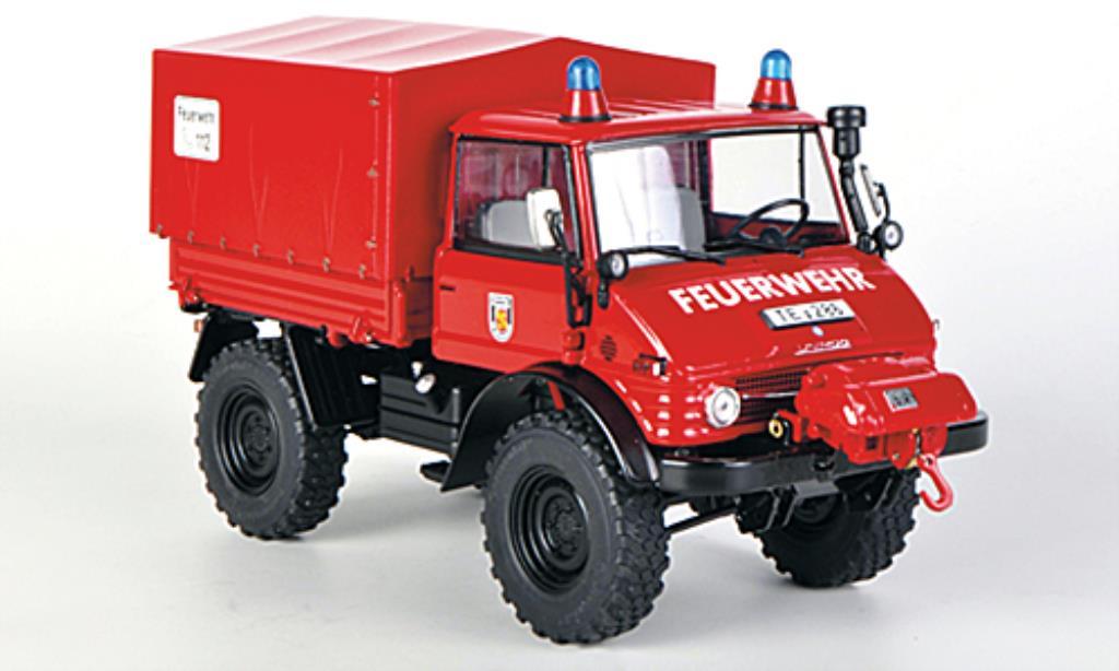 Mercedes Unimog 1/32 Weise 406 (U84) Freiwillige Feuerwehr LZ Riesenbeck miniature