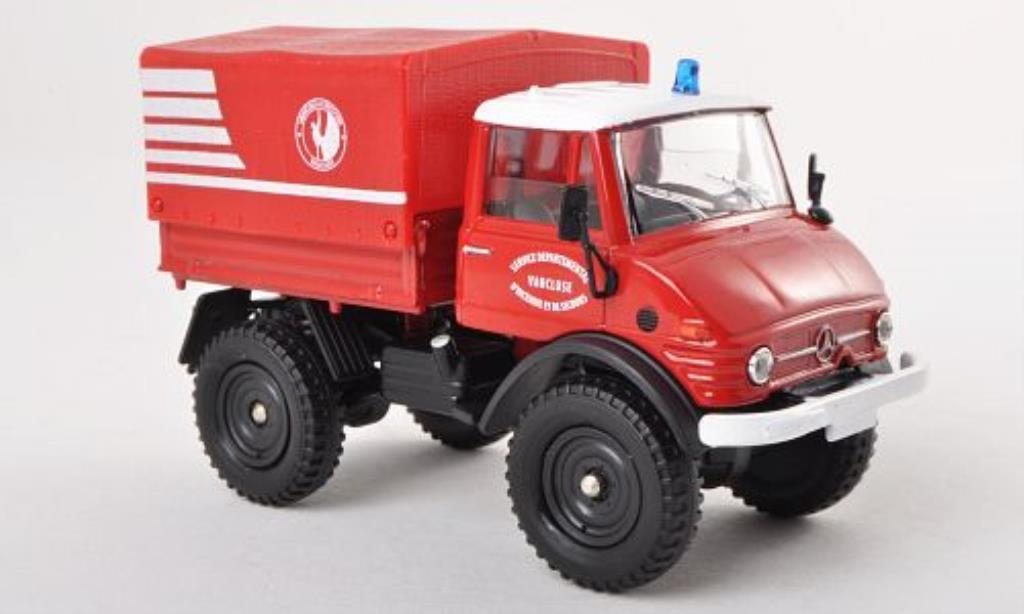 Mercedes Unimog 1/50 Solido 406 Vehicule dIncendie et de Secours - Vaucluse Feuerwehr 1963 miniature