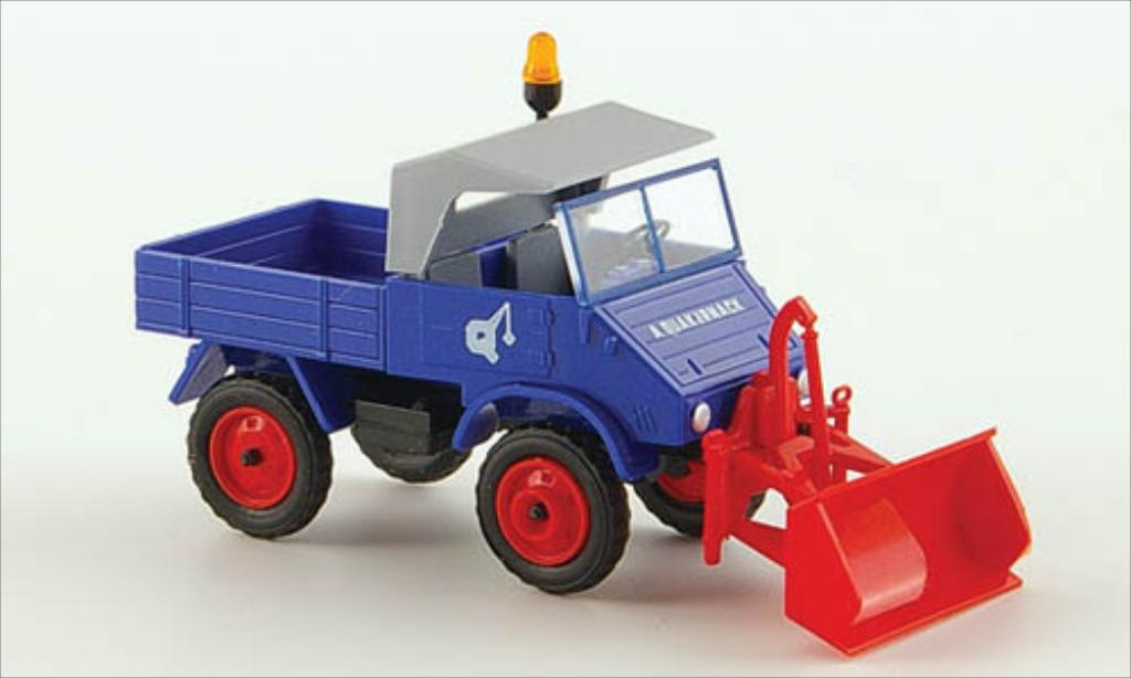 Mercedes Unimog 1/87 Epoche 411 August Quakernack miniature