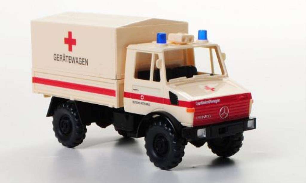 Mercedes Unimog 1/87 Wiking U 1300 L DRK Geratewagen miniature