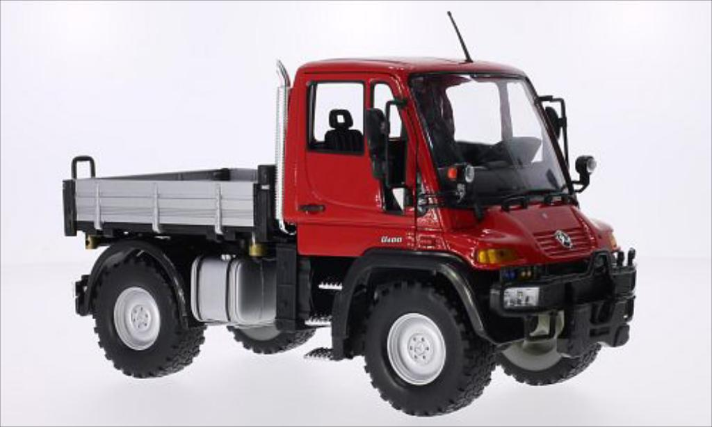 Mercedes Unimog 1/24 Welly U400 rouge miniature