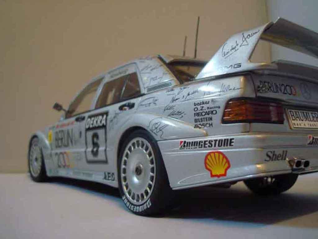 Mercedes 190 Evo 1/18 Autoart e 25 16v evo2 dtm 1992 miniature