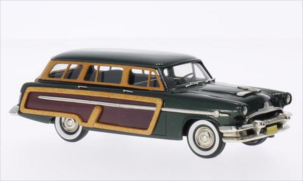 Mercury Monterey 1/43 Brooklin Station Wagon metallise grun/Holzoptik 1954 miniature