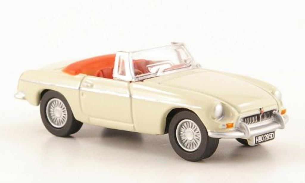 MG B 1/76 Oxford beige offen miniature
