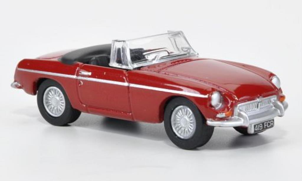 MG B 1/76 Oxford red offen 1970 diecast model cars