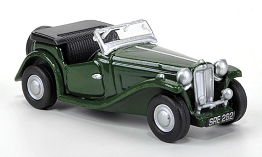 MG TC 1/76 Oxford grun 1949 diecast model cars