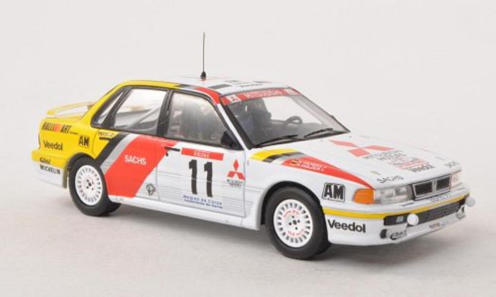 Mitsubishi Galant 1/43 IXO VR-4 No.11 RalliArt Tour de Corse 1991 /K.Wendel