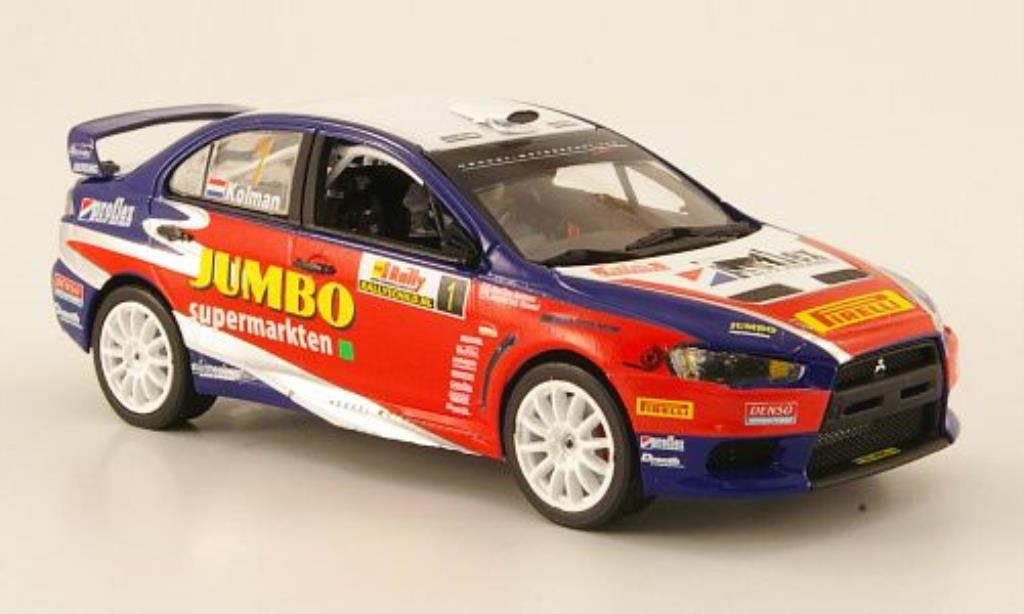 Mitsubishi Lancer 1/43 Vitesse Evo X No.1 Jumbo Sieger Tank S Rally 2009 miniature