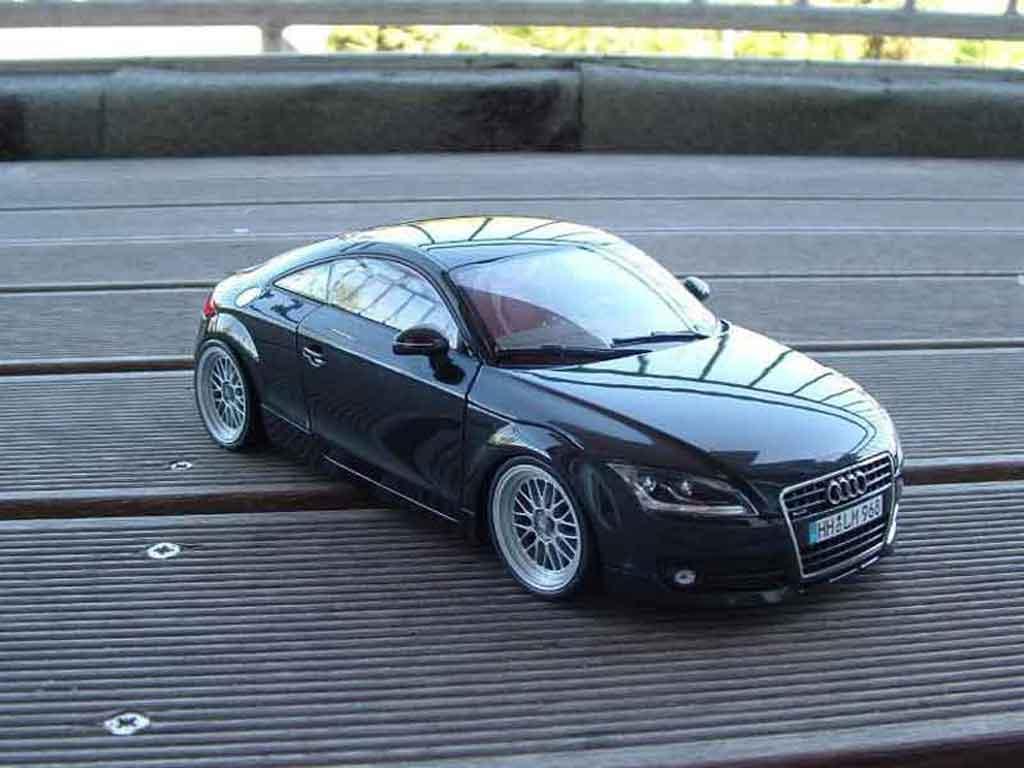 Audi TT coupe 1/18 Minichamps jantes bbs diecast