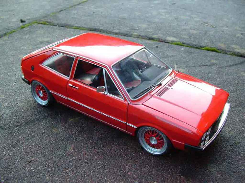 Volkswagen Scirocco GTI 1/18 Revell red diecast