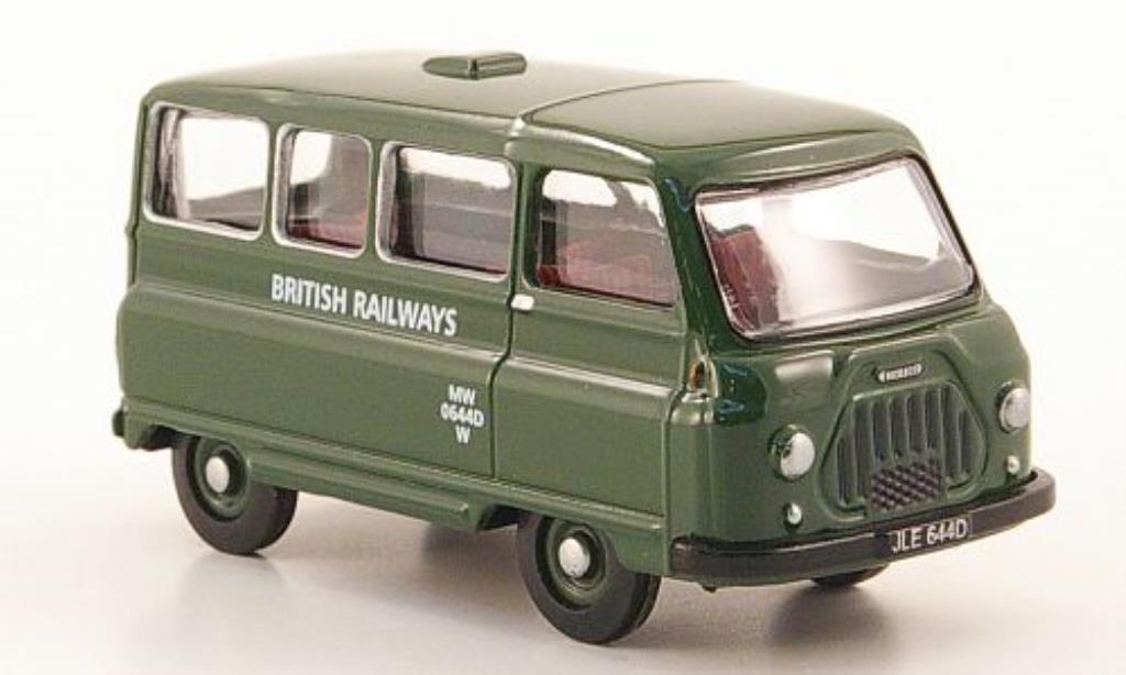 Morris J2 1/76 Oxford Minibus British Railways miniature