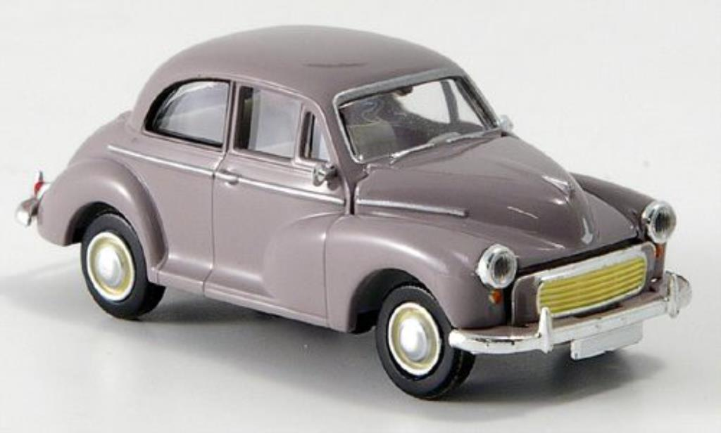 Morris Minor 1/87 Brekina gray diecast