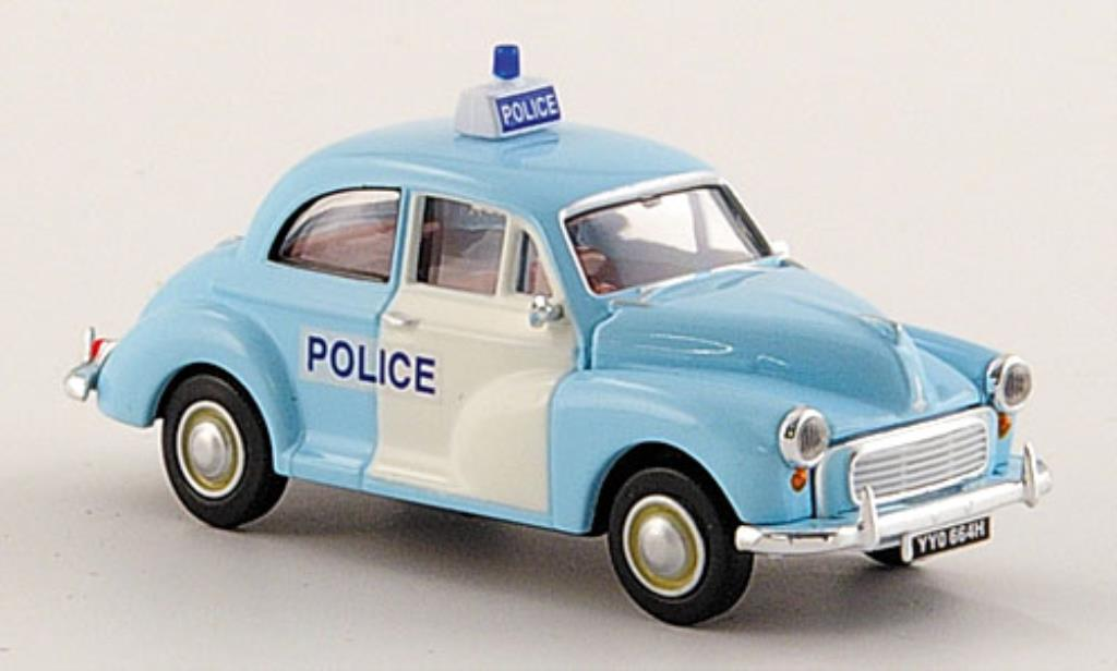 Morris Minor 1/87 Brekina Limousine Police Polizei miniature
