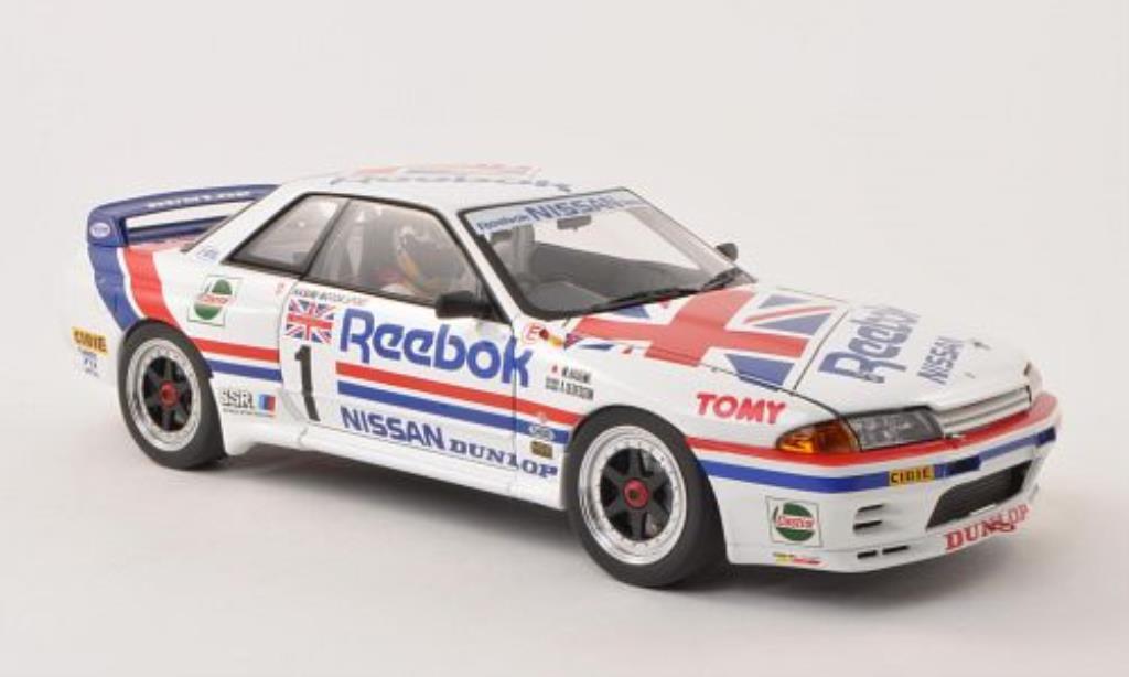 Nissan Skyline 1/18 Autoart GT-R (R32) Gr.A No.1 Reebok /A.Olofsson miniature