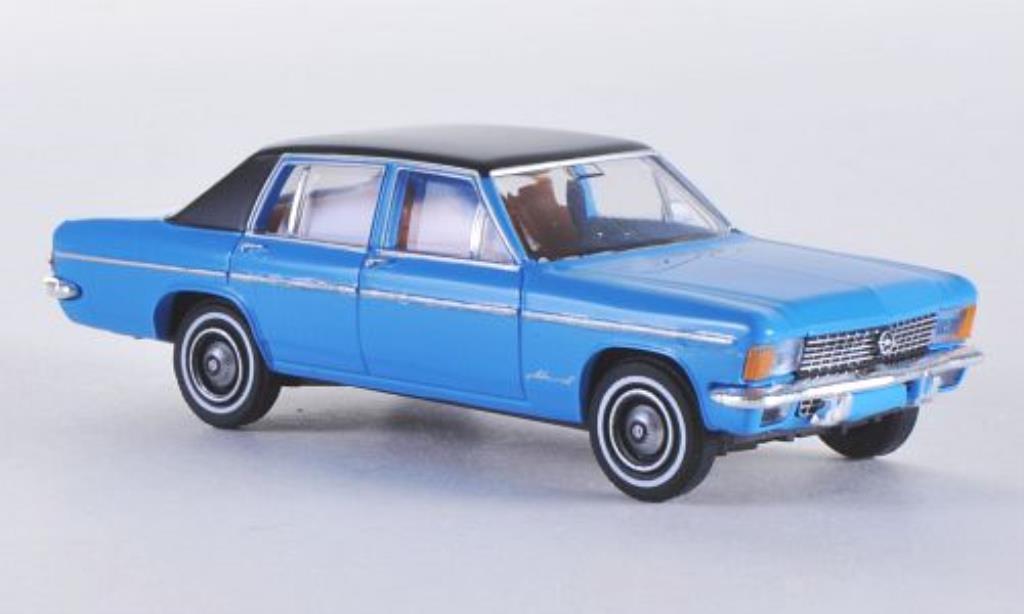 Opel Admiral 1/87 Brekina B bleu/matt-noire miniature
