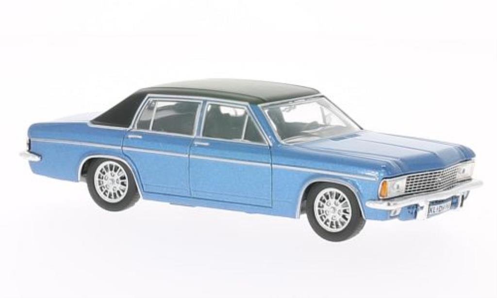 Opel Admiral 1/43 WhiteBox B bleu/noire 1969 miniature