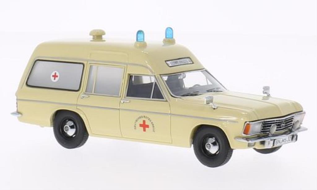 Opel Admiral 1/43 Matrix B SWB Miesen RTW Rettungswagen 1970 miniature