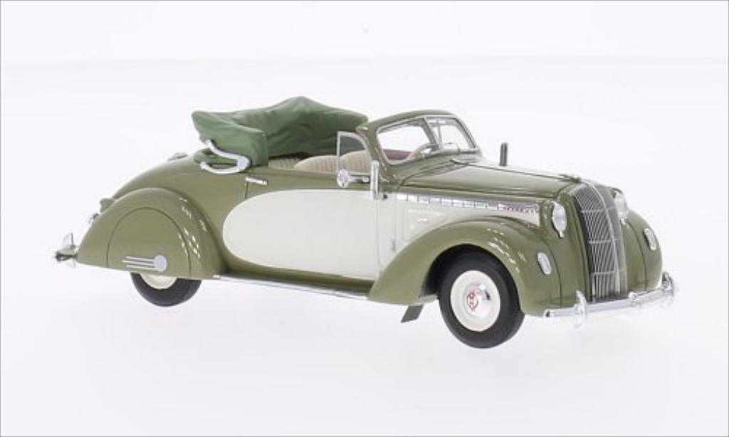Opel Admiral 1/43 Neo Hebmuller oliv/beige 1938 miniature
