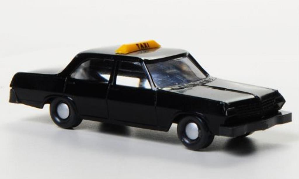 Opel Admiral 1/160 Wiking Taxi noire miniature