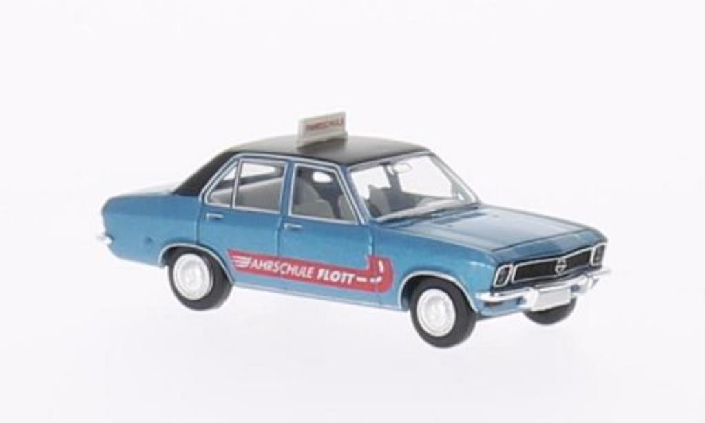 Opel Ascona A 1/87 Brekina Fahrschule Flott miniature