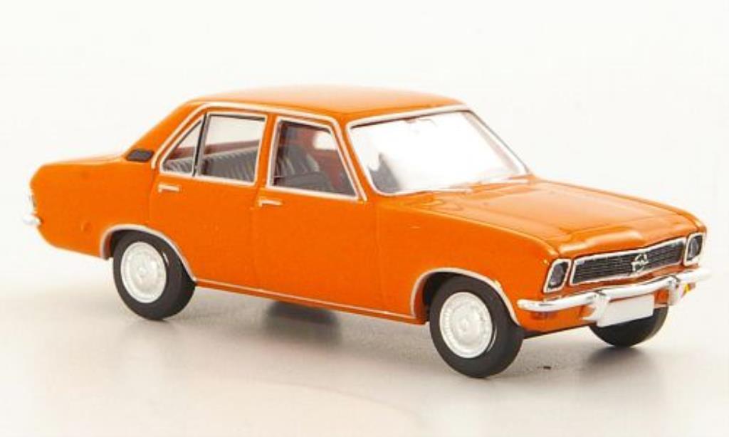 Opel Ascona A 1/87 Brekina orange 4-Turer miniature